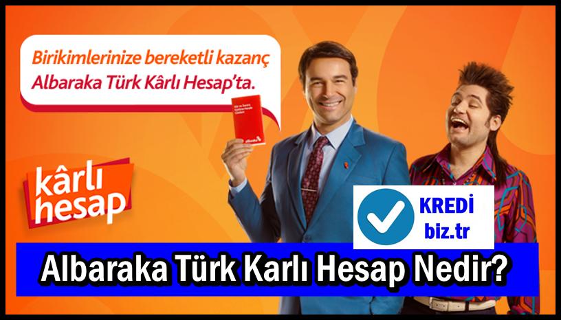 Albaraka Türk Karlı Hesap Nedir?
