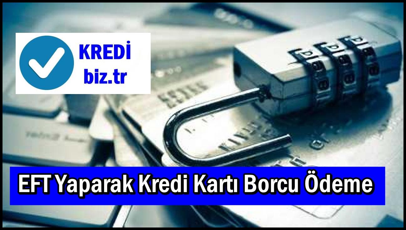 EFT Yaparak Kredi Kartı Borcu Ödeme