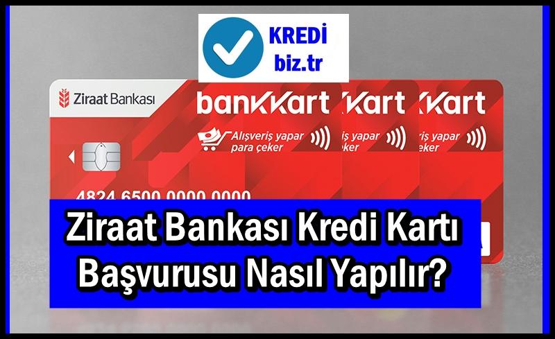 Ziraat Bankası Kredi Kartı Başvurusu Nasıl Yapılır?
