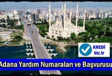 Adana Yardım Numaraları ve Başvurusu