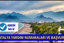 Antalya Yardım Numaraları ve Başvuru
