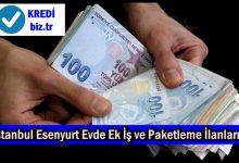 İstanbul Esenyurt Evde Ek İş ve Paketleme İlanları