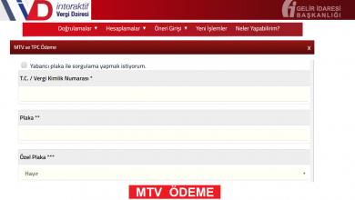 MTV Ödemesi Yapılan Bankalar Hangileridir?